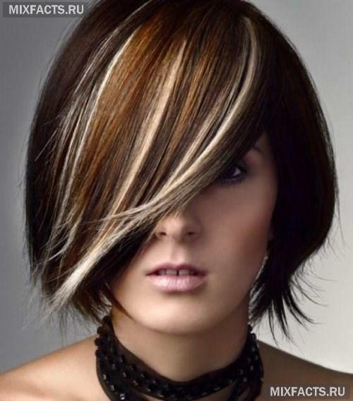 Перышки на волосах в домашних условиях 822