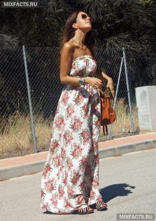 6a2a5113371 Летние длинные платья  фото стильных образов
