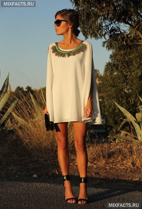 de202c7d9ea летние платья фото. белое свободного кроя ...