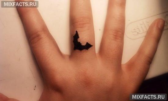 летучая мышь татуировки фото