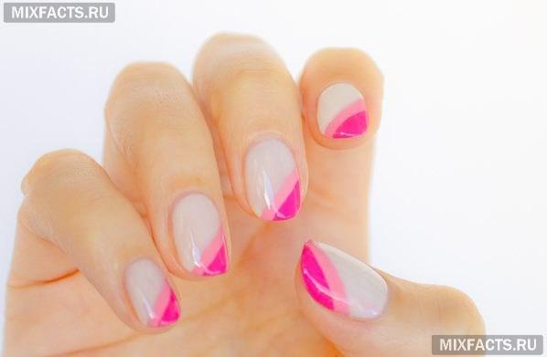 Френч на короткие ногти - фото, идеи, как сделать