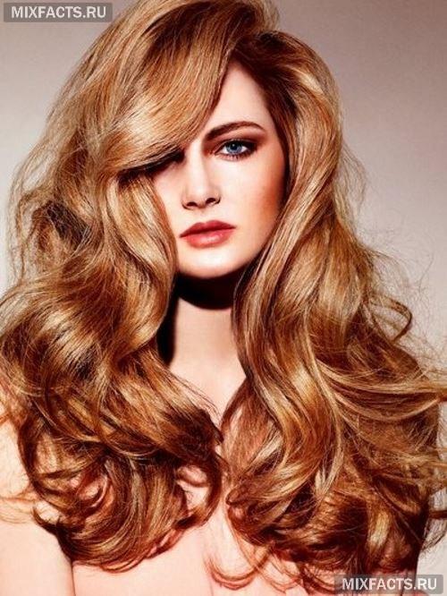 цвет волос медный фото