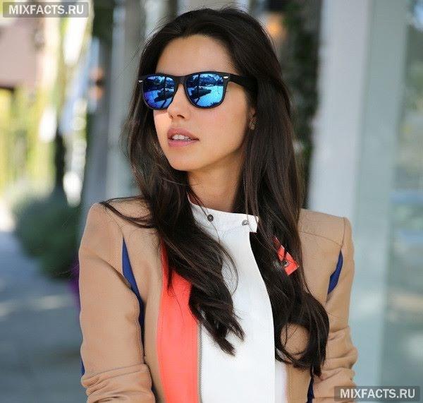 3f0926292612 Зеркальные цветные очки - тренд сезона (фото)