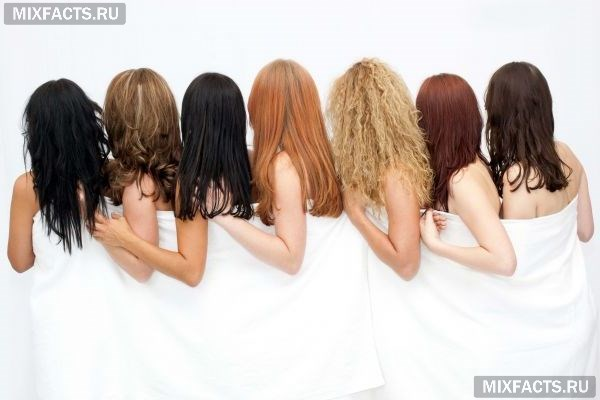 цвета краски для волос