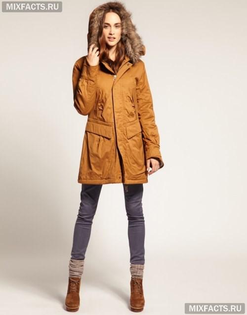 Куртка-парка  что это и с чем носить  e306b7719b0