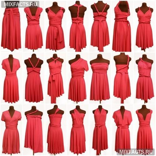 7a5d9a90ea8 Платье-трансформер  фото и видео