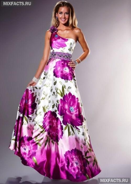 c9ecec0f7d5a Платья с большими цветами (фото)
