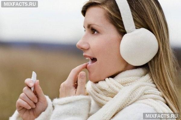 простуда на губе что делать?