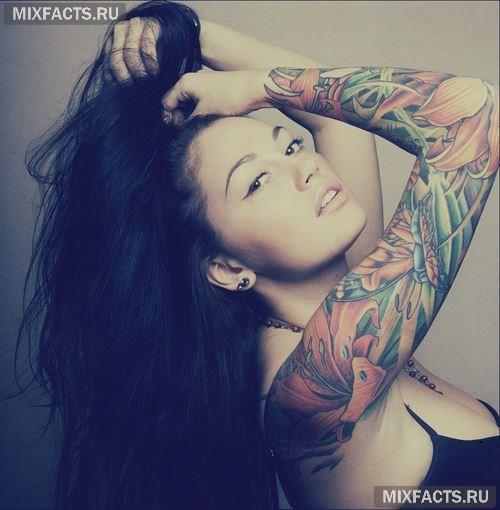 Какую сделать татуировку девушке фото 145