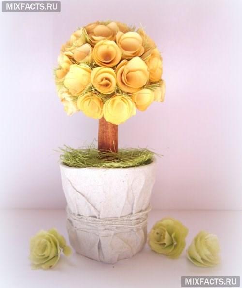 топиарий из цветов своими руками