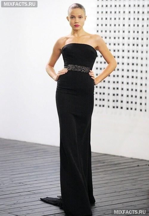 Черные длинные платья (фото) 22beb5096b9