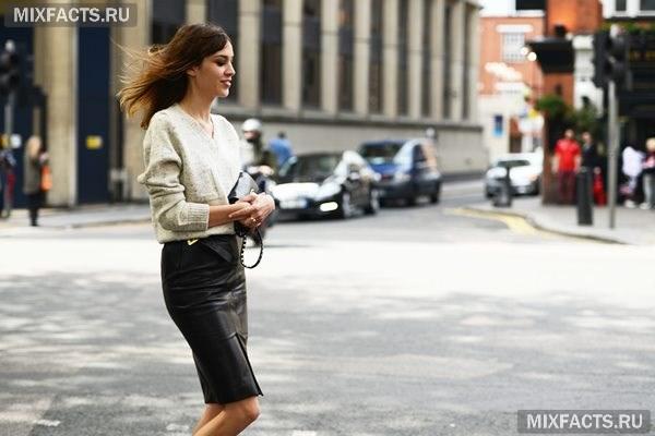 076bbc21268 Завышенная юбка-карандаш  7 модных образов (фото)
