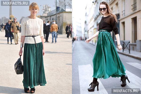 3678c481575 С чем носить длинную юбку (фото)