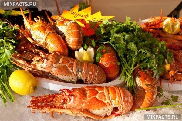 Какие морепродукты можно есть на диете